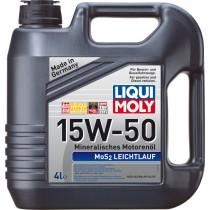 LIQUI MOLY 15W50 MOS2 LEICHTLAUF 4 Λίτρα
