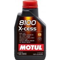 MOTUL 8100 X-CESS 5W40 1 Λίτρα