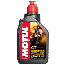 MOTUL SCOOTER POWER 4T 5W40 MA 1 Λιτρο