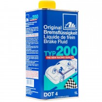 ATE TYPE 200 Original Brake Fluid DOT 4 Racing 1L