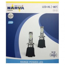 SET LED LAMPS H7 6000K
