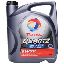 TOTAL 5W30 QUARTZ Ineo Ecs 5 Λίτρα